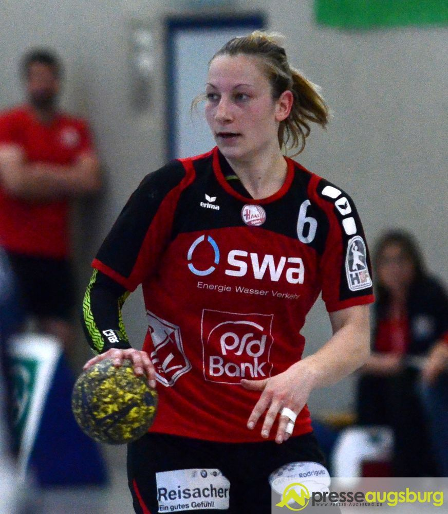 Patricia Horner warf vier Treffer. | Foto: Dominik Mesch
