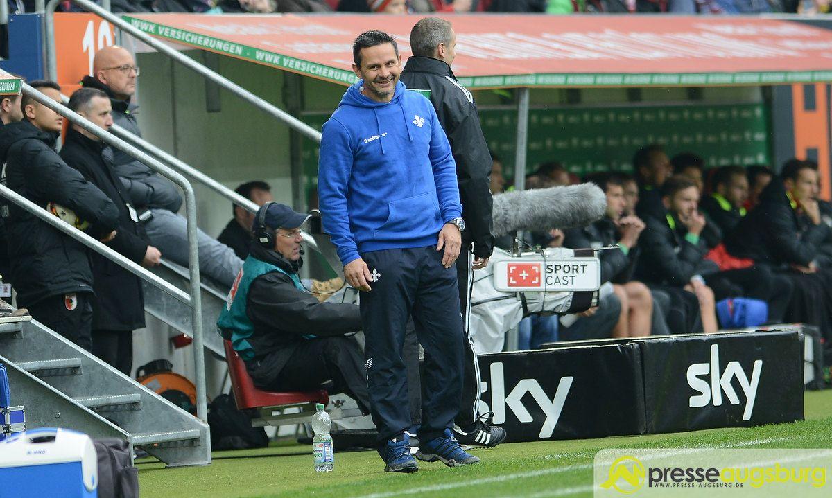 fca_darmstadt_0019 Endlich offiziell | Weinzierl geht zu Schalke, Schuster kommt zum FC Augsburg FC Augsburg News Sport Dirk Schuster FC Augsburg FC Schalke 04 Markus Weinzierl SV Darmstadt 98 |Presse Augsburg