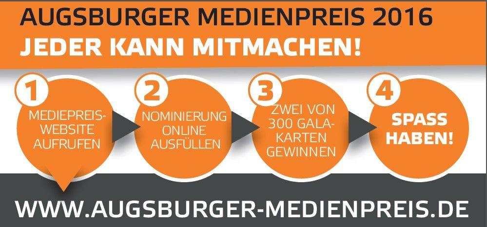 medienpreis Augsburger Medienpreis 2016: Der Countdown läuft! News Augsburger Medienpreis  Presse Augsburg