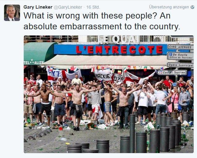 twitter Schwere Ausschreitungen überschatten England-Spiel – BOB'S EM-Total Newsflash News Sport Bobs EM Europameisterschaft UEFA Euro 2016 |Presse Augsburg