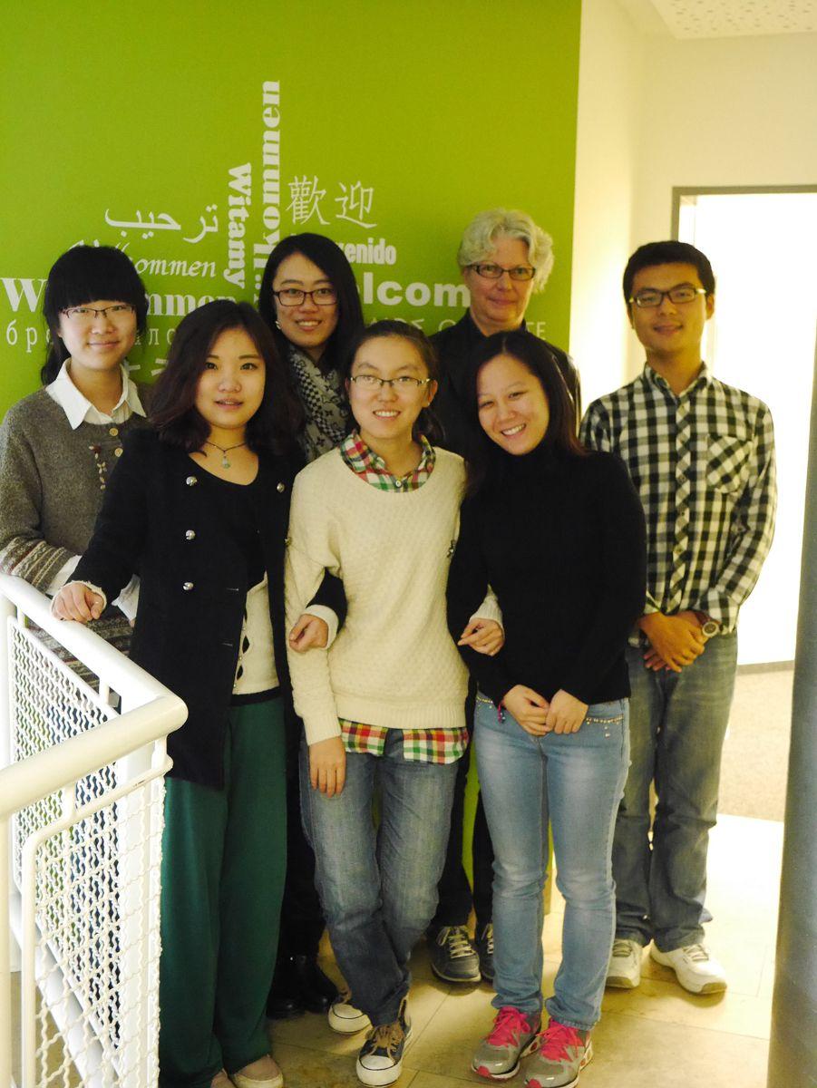 Shandong-2014_pr Deutsch und Augsburg intensiv für 23 junge Chinesinnen und Chinesen Wirtschaft |Presse Augsburg
