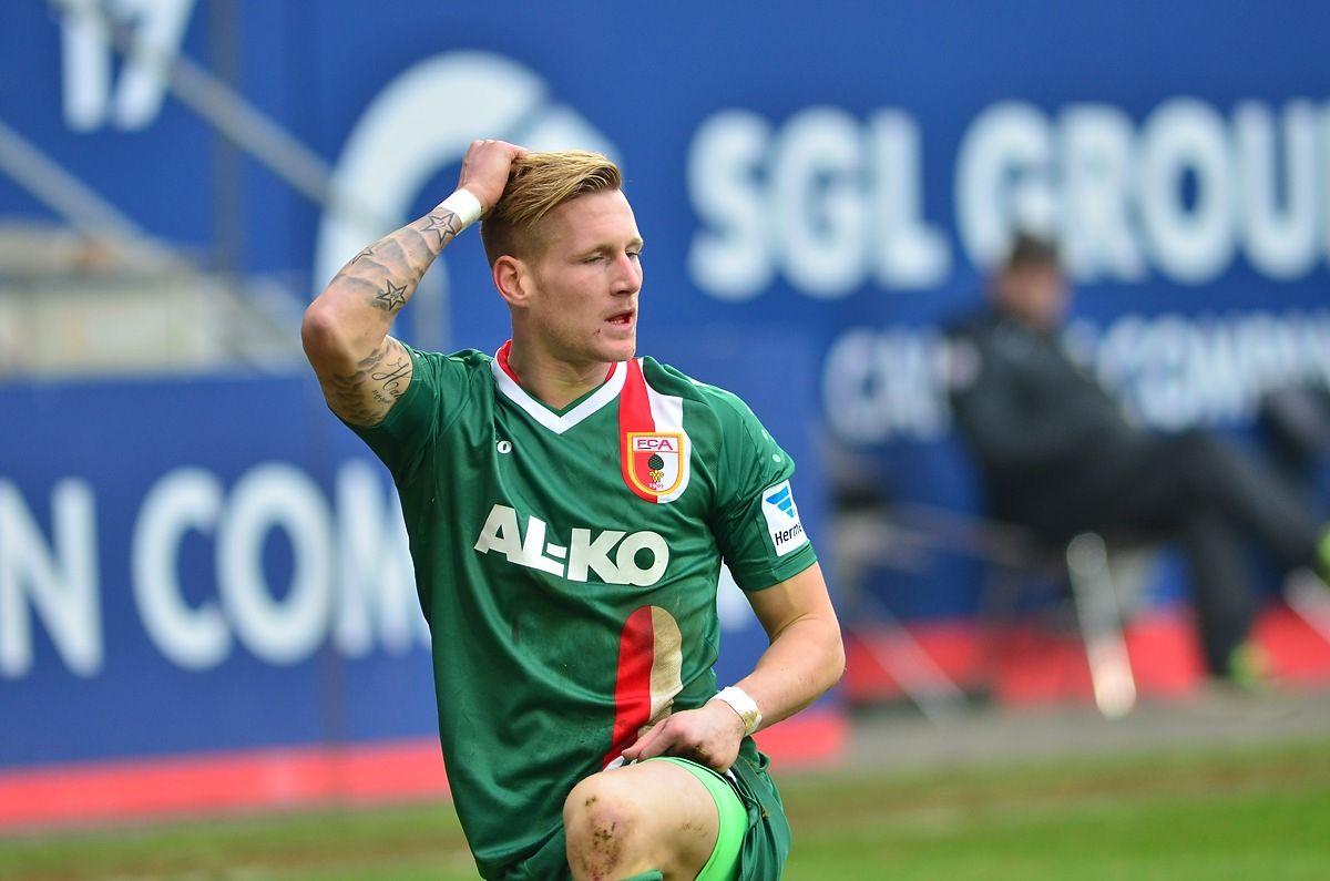 fca_bremen_140201_014 André Hahn: Auch Gladbach interessiert? FC Augsburg News Sport  Presse Augsburg