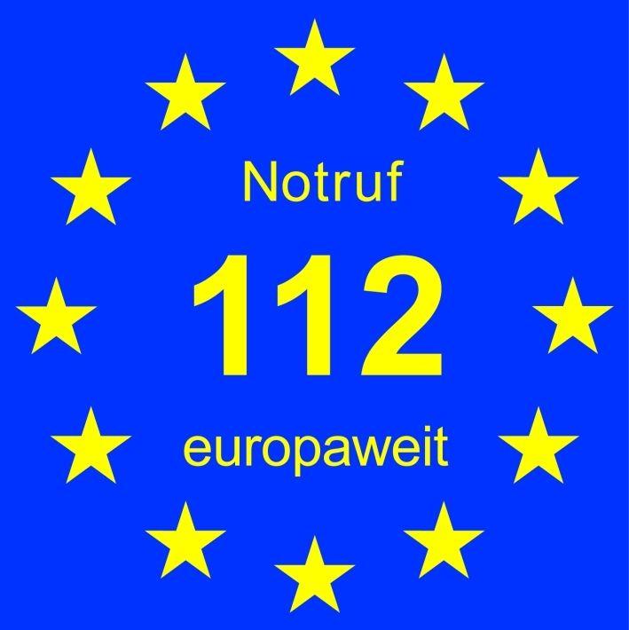 feuerwehr_Euronotruflogo-112 Notruf 112 rettet europaweit Leben News Polizei & Co 112 Berufsfeuerwehr Augsburg Europaweiter Notruf Feuerwehr |Presse Augsburg