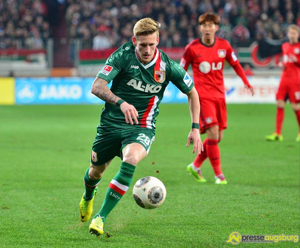 Bericht   Kehrt Andre Hahn zum FC Augsburg zurück?