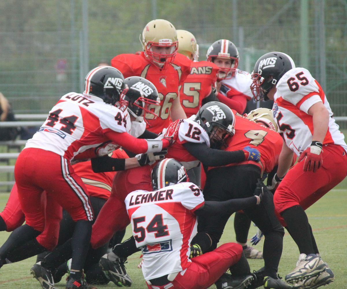 ants_juniors_2014_neu-ulm Football   Auch Ants Juniors verlieren in Neu-Ulm News Sport American Football Ants Königsbrunn Neu-Ulm Spartans  Presse Augsburg