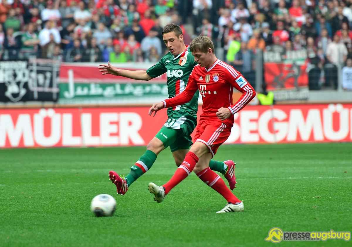 fca_fcb_144 FC Augsburg: Heimspiel gegen Bayern restlos ausverkauft FC Augsburg News Sport FC Augsburg FC Bayern Heimspiel sglArena |Presse Augsburg