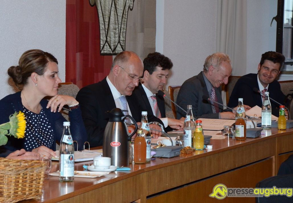 2014-05-02-1.-Stadtratssitzung-–-2638 Stadtregierung blickt zufrieden auf die 100-Tage-Bilanz Augsburg-Stadt News 100 Tage Augsburg Bilanz CSU Grüne Legislaturperiode SPD Stadtregierung |Presse Augsburg