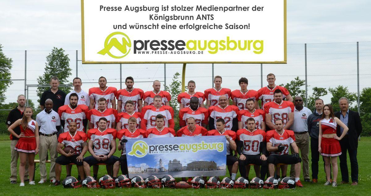 werbung_presse-augsburg_ants YES! Ants Juniors fahren ersten Saisonsieg ein Sport A-Juniors American Football Franken Timberwolves Königsbrunn Ants |Presse Augsburg