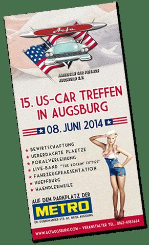 treffen2014 Chrom, Plüsch und Flossen - 15. US-Car Treffen in Augsburg Freizeit News Augsburg Treffen US-Car |Presse Augsburg