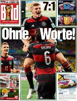 Internationale Pressestimmen Zum Halbfinale Brasilien Gegen