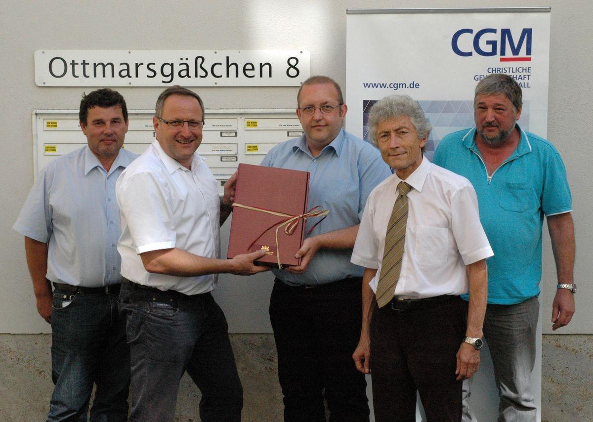 CGM-A-1 Gewerkschaft CGM baut Arbeit vor Ort aus Vereinsleben Wirtschaft CGM Christlichen Gewerkschaft Metall  Presse Augsburg