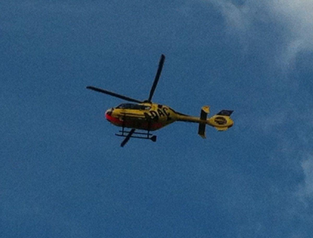 Rettungshubschrauber Christoph 40