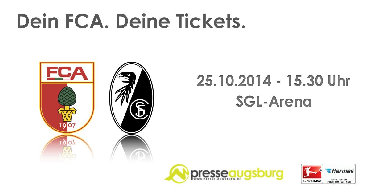 fcaugsburg_freiburg FC Augsburg: Heimspiel gegen Bayern restlos ausverkauft FC Augsburg News Sport FC Augsburg FC Bayern Heimspiel sglArena |Presse Augsburg