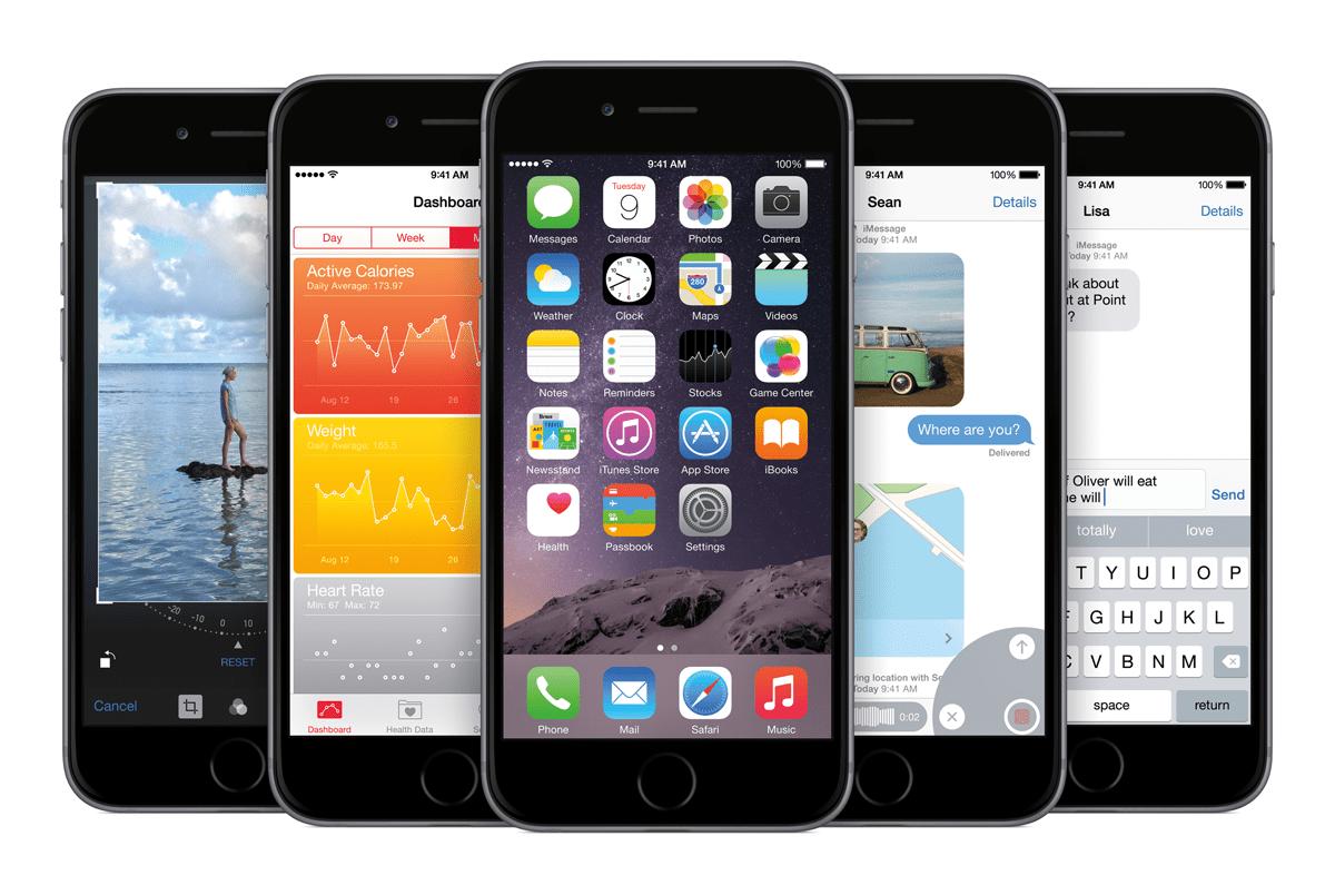 iPhone6_PF_SpGry_5-Up_iOS8-PRINT Apple präsentierte am Dienstag seine Neuheiten | Was Sie darüber wissen sollten... Freizeit News Technik & Gadgets Apple apple pay apple watch iphone iPhone 6 iphone plus |Presse Augsburg