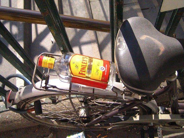 Fahrrad Alkohol