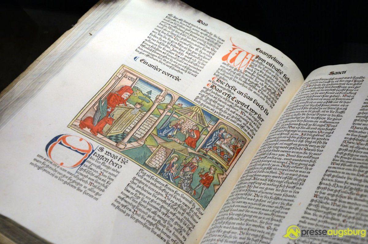2014-11-18 weihnachten-ausstellung – 34 – bibel – Presse Augsburg ...