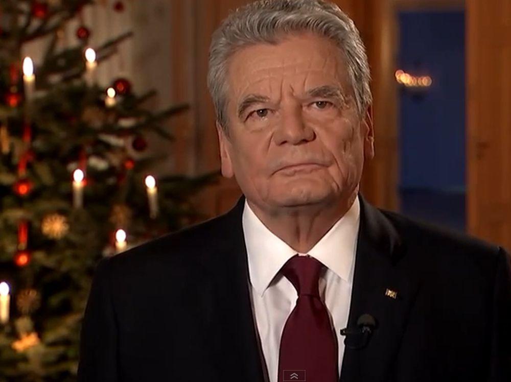 gauck_weihnachten-2014 Die Weihnachtsansprache des Bundespräsidenten News Politik Bundespräsident Joachim Gauck Weihnachtsansprache  Presse Augsburg