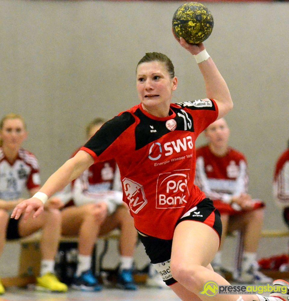 Sabrina Duschner und der TSV haben ein großes Ausrufezeichen im Kampf und den Klassenerhalt gesetzt.   Foto: Wolfgang Czech