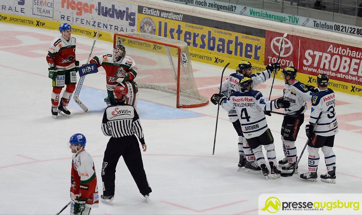 AEV_Ingolstadt_230115_0045 Augsburger Panther verlieren spektakuläres Bayernderby knapp Augsburger Panther News Sport AEV Augsburger Panther DEL Derby Eishockey ERC Ingolstadt |Presse Augsburg