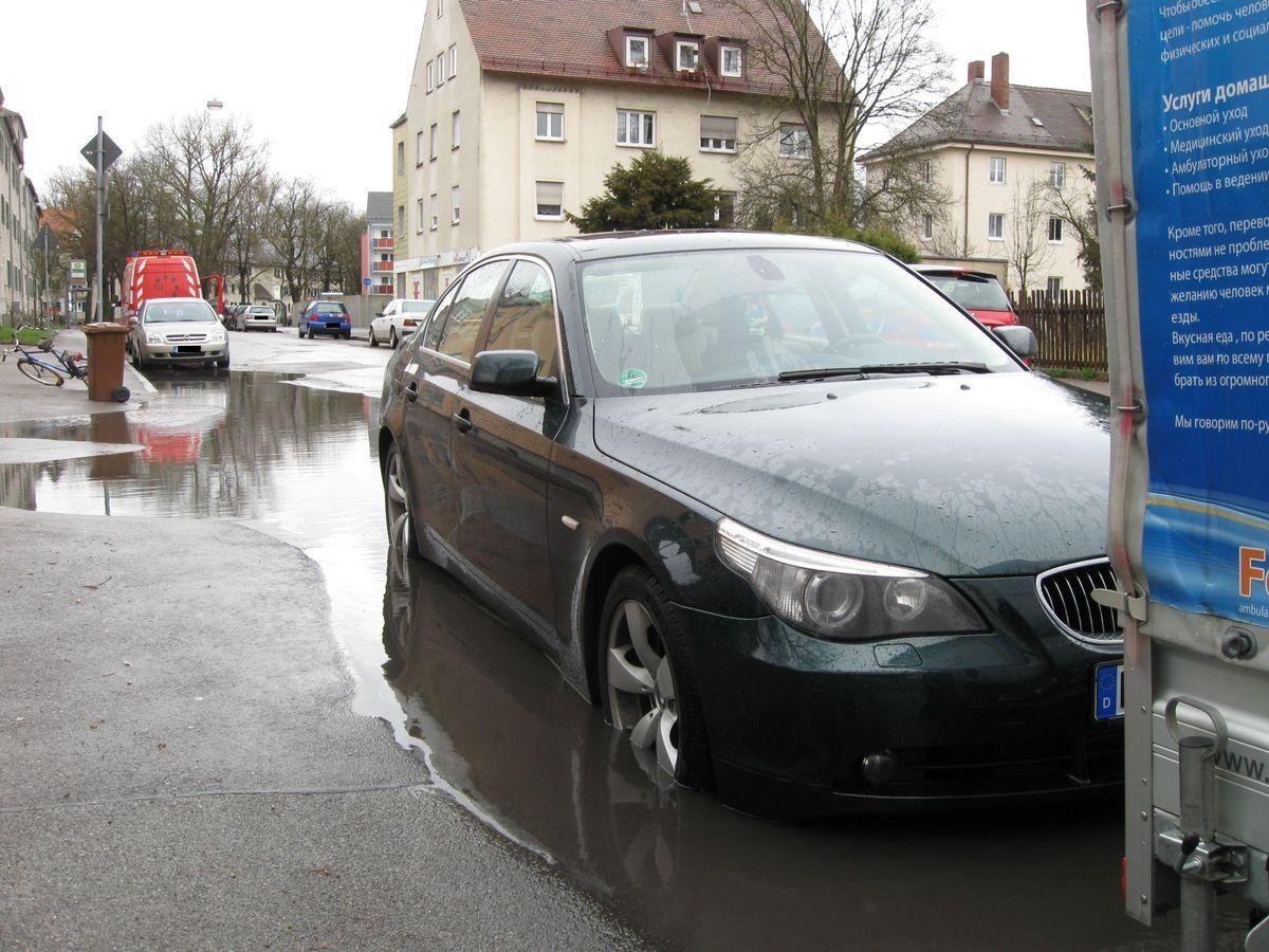 feuerwehr_überschwemmung Das Unwetter fordert erste Einsätze der Feuerwehr News Polizei & Co Lechhausen Schillstr. |Presse Augsburg