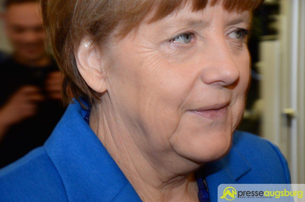 Bundestagswahl   Kanzlerin Merkel spricht morgen in Augsburg