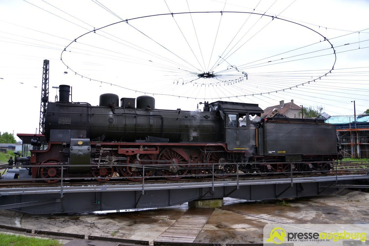 Rettung des Bahnpark Augsburg möglich - OB Gribl stellt Konzept vor