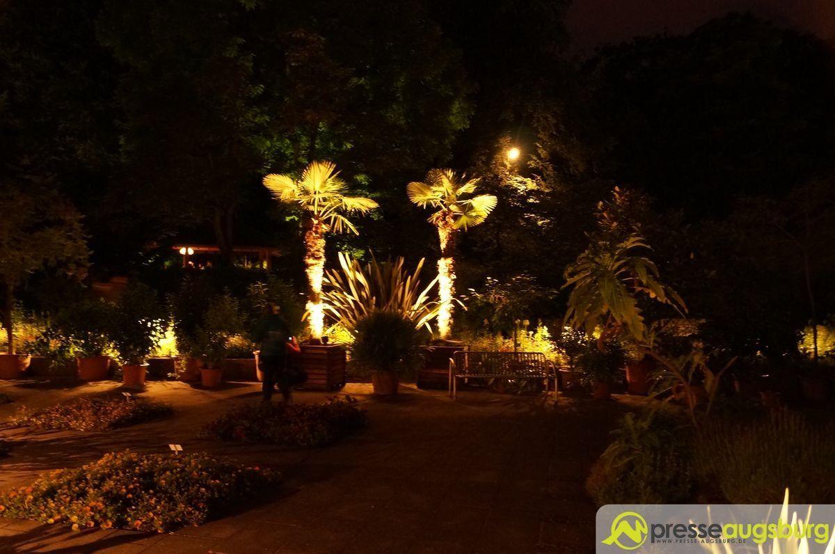 20150620 nacht der lichter botanischer garten 007 presse augsburg nachrichten f r augsburg - Garten lichter ...