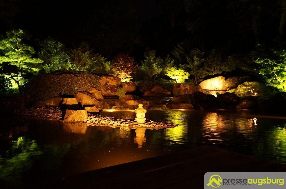 20150620 nacht der lichter botanischer garten 012 presse augsburg nachrichten f r augsburg - Garten lichter ...