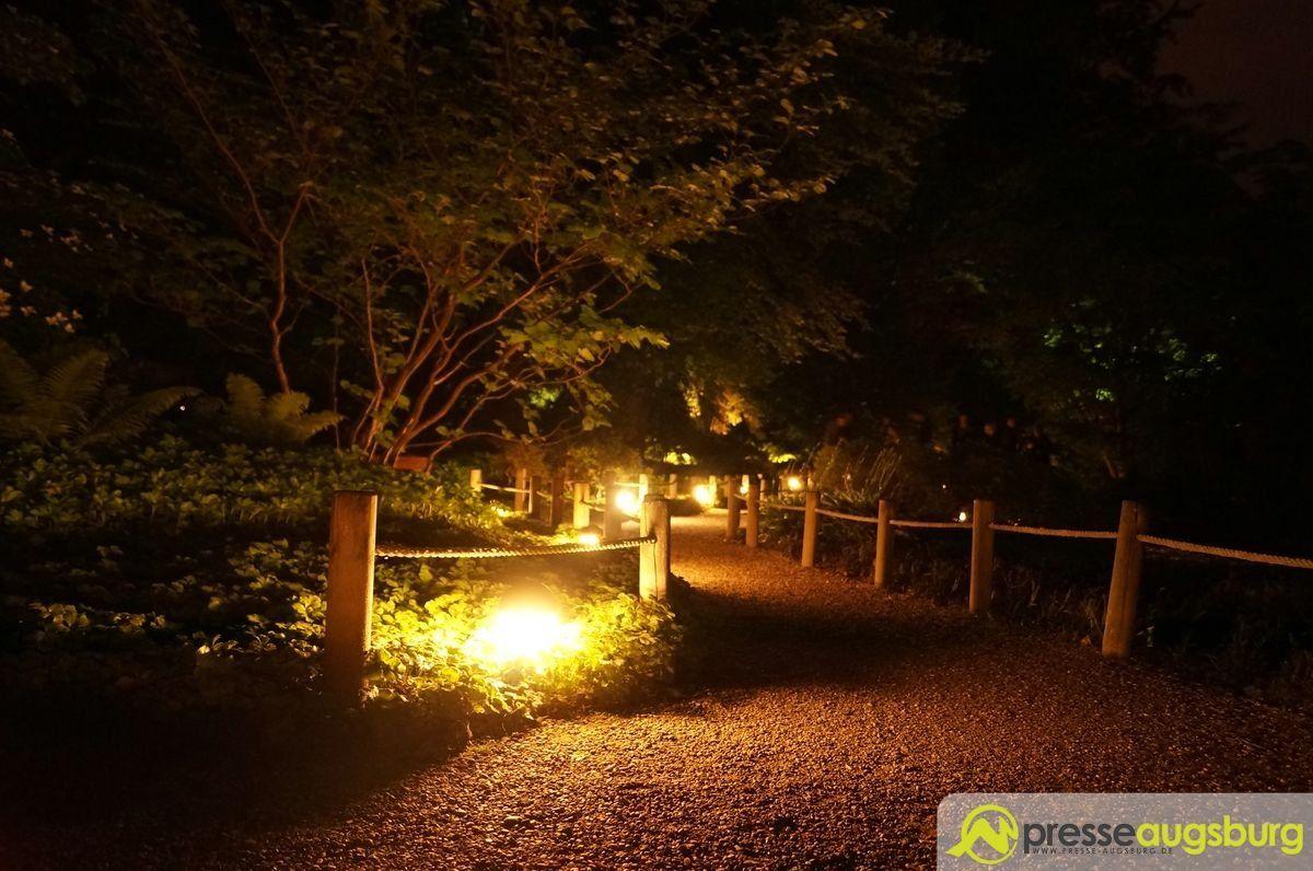 20150620 nacht der lichter botanischer garten 014 presse augsburg nachrichten f r augsburg - Garten lichter ...