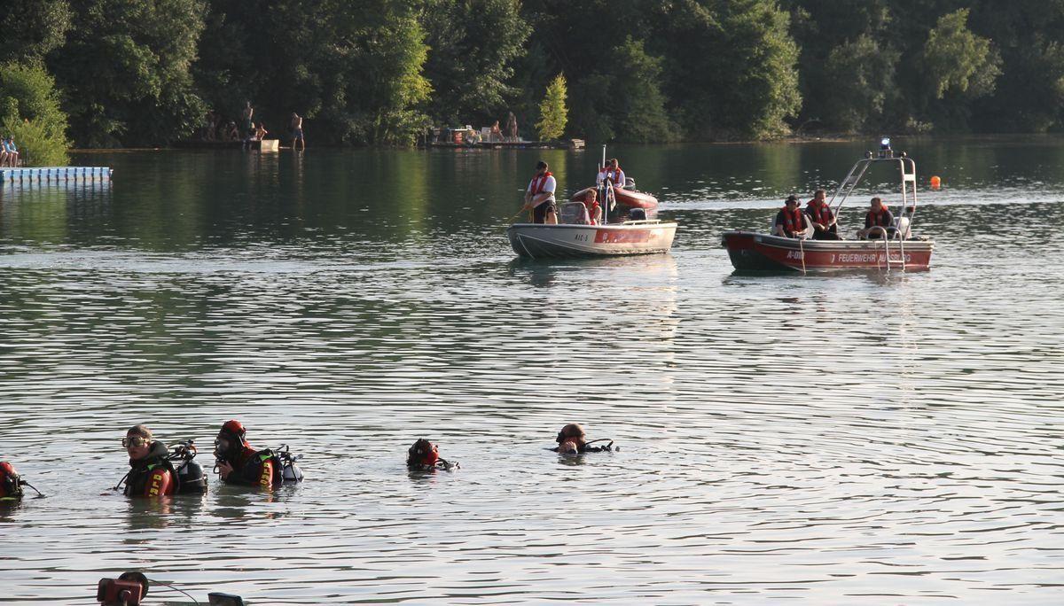 Jugendlicher stirbt in Baggersee