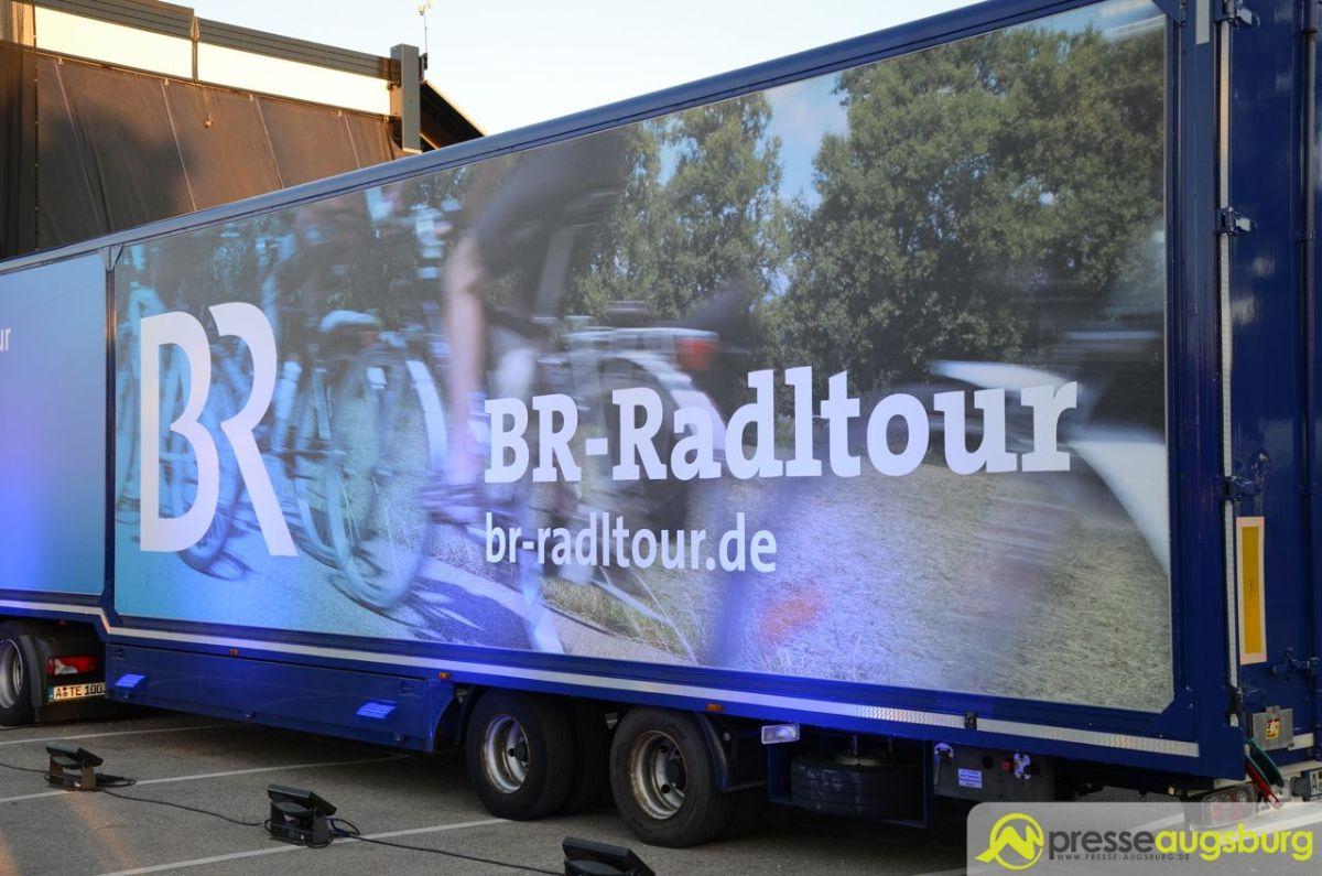 Die 28. BR-Radltour rollt durch Schwaben und das Allgäu