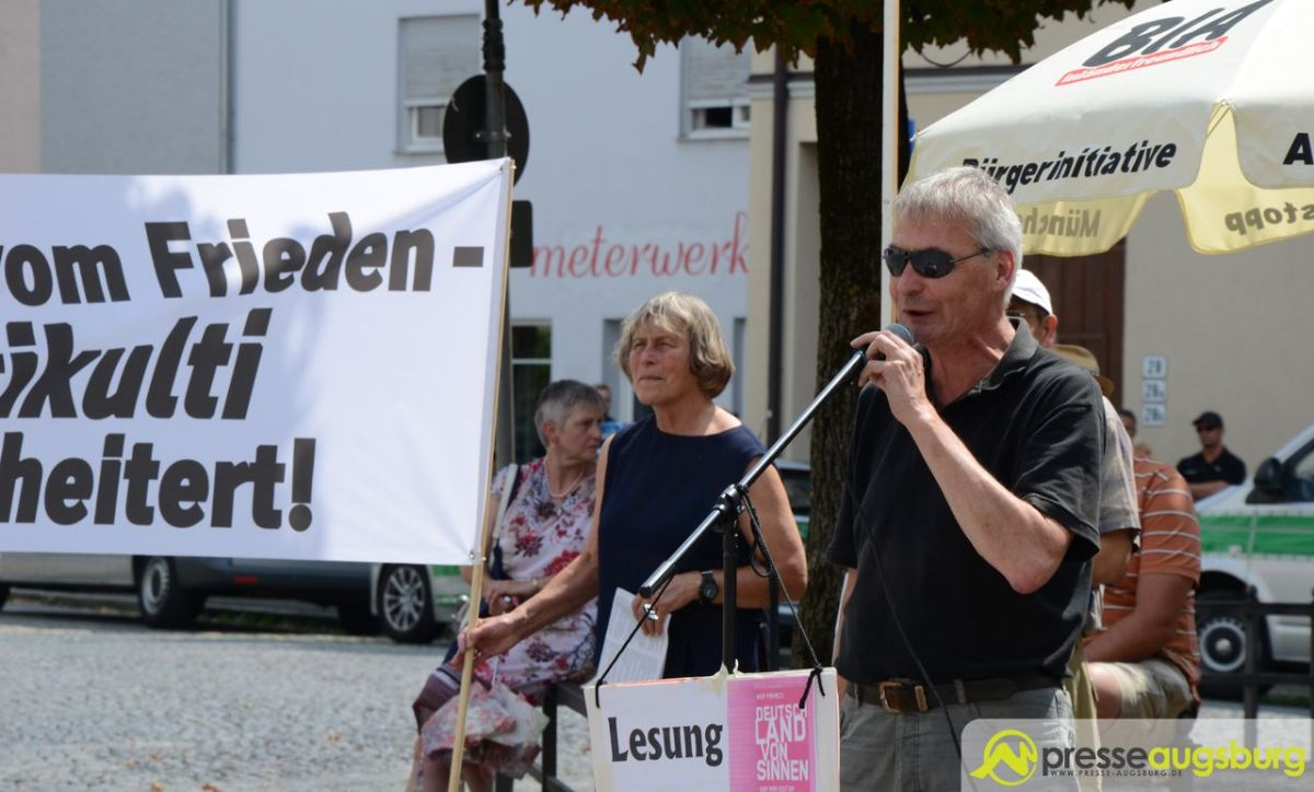 Friedensfest | Stadt Augsburg kann rechtsextreme Demo nicht untersagen