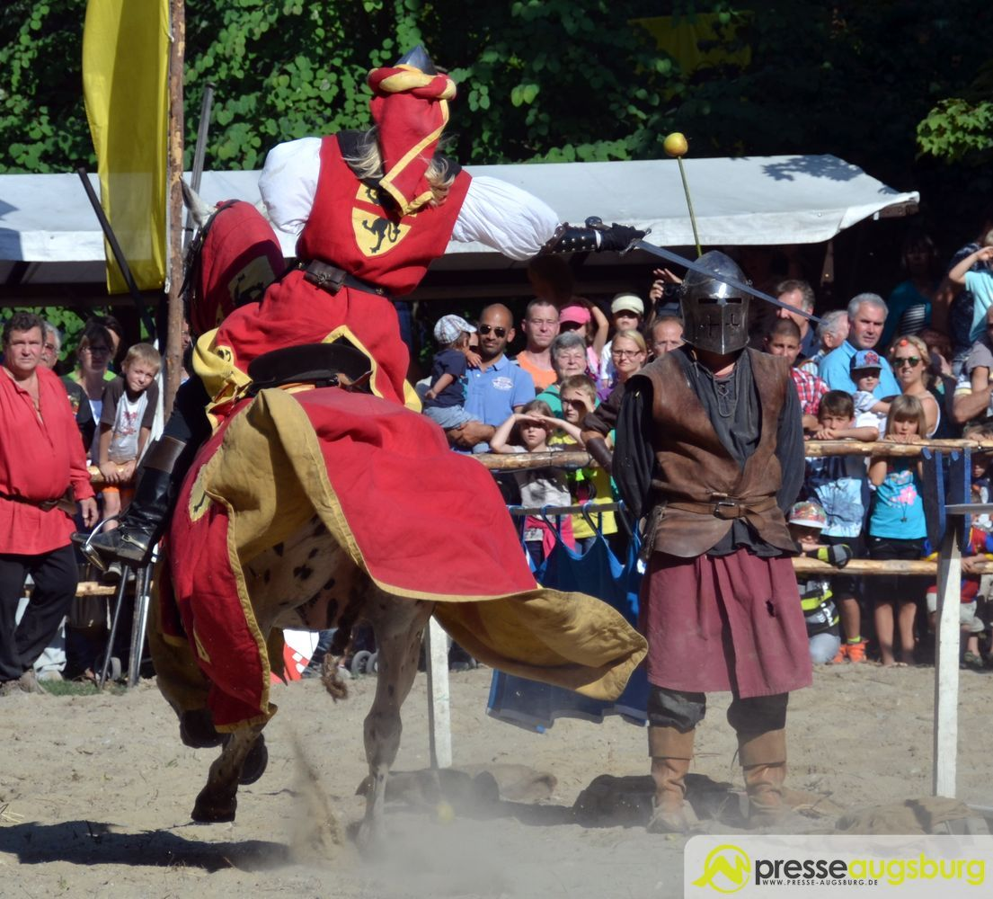 """Zehn Tage """"goldenes Augsburg"""" - Historisches Bürgerfest am Roten Tor startet"""