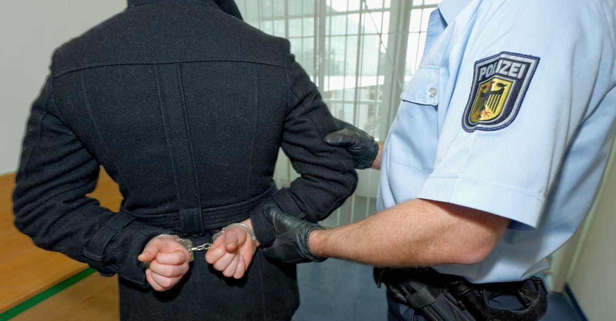 Bundespolizei Symbolbild Festnahme