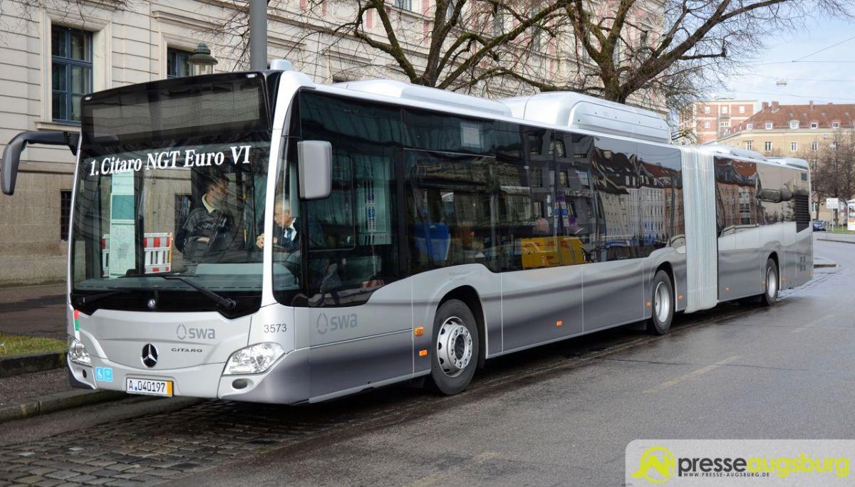 2015 12 18 neuer swa bus 19 presse augsburg nachrichten f r augsburg und bayerisch schwaben. Black Bedroom Furniture Sets. Home Design Ideas