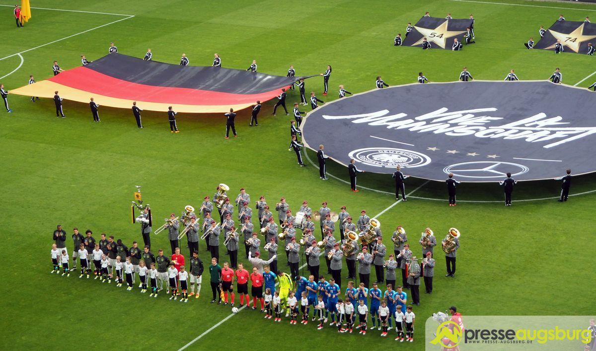 Polizei: Länderspiel Deutschland – Slowakei verlief