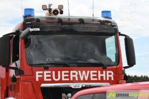 Augsburg-Lechhausen | Mann im letzten Augenblick von Feuerwehr gerettet