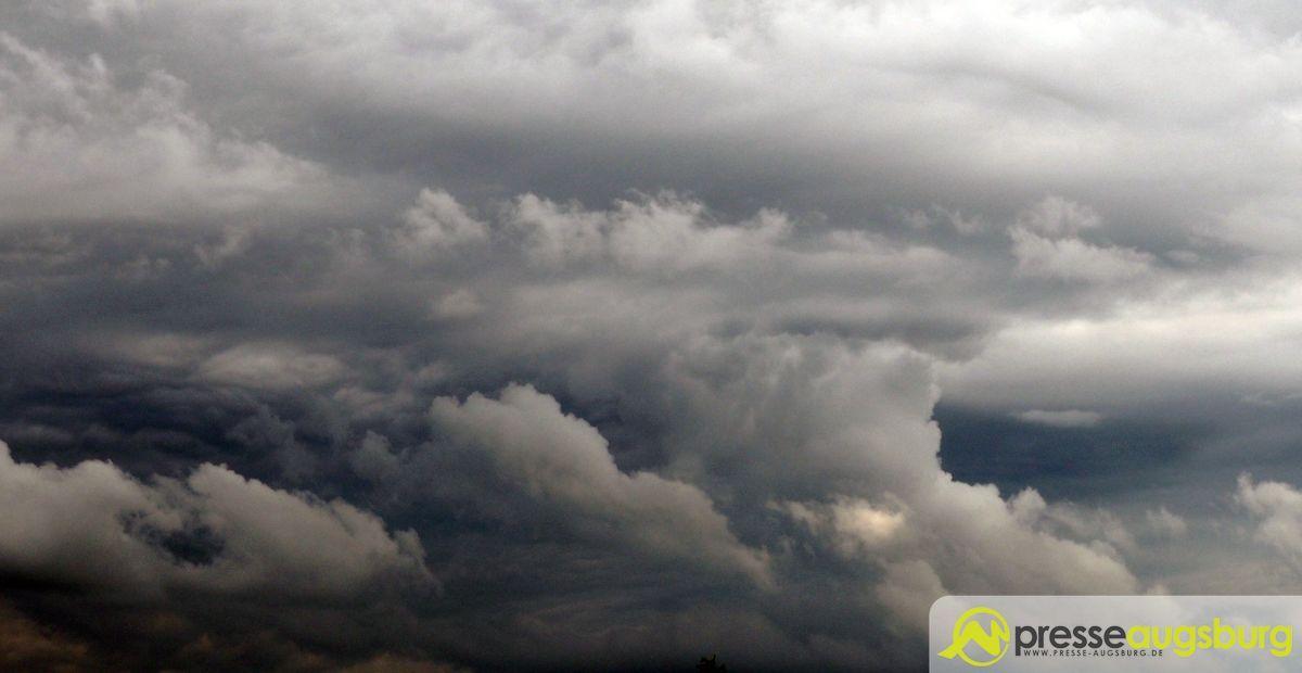 Unwetter Wolken Gewitter
