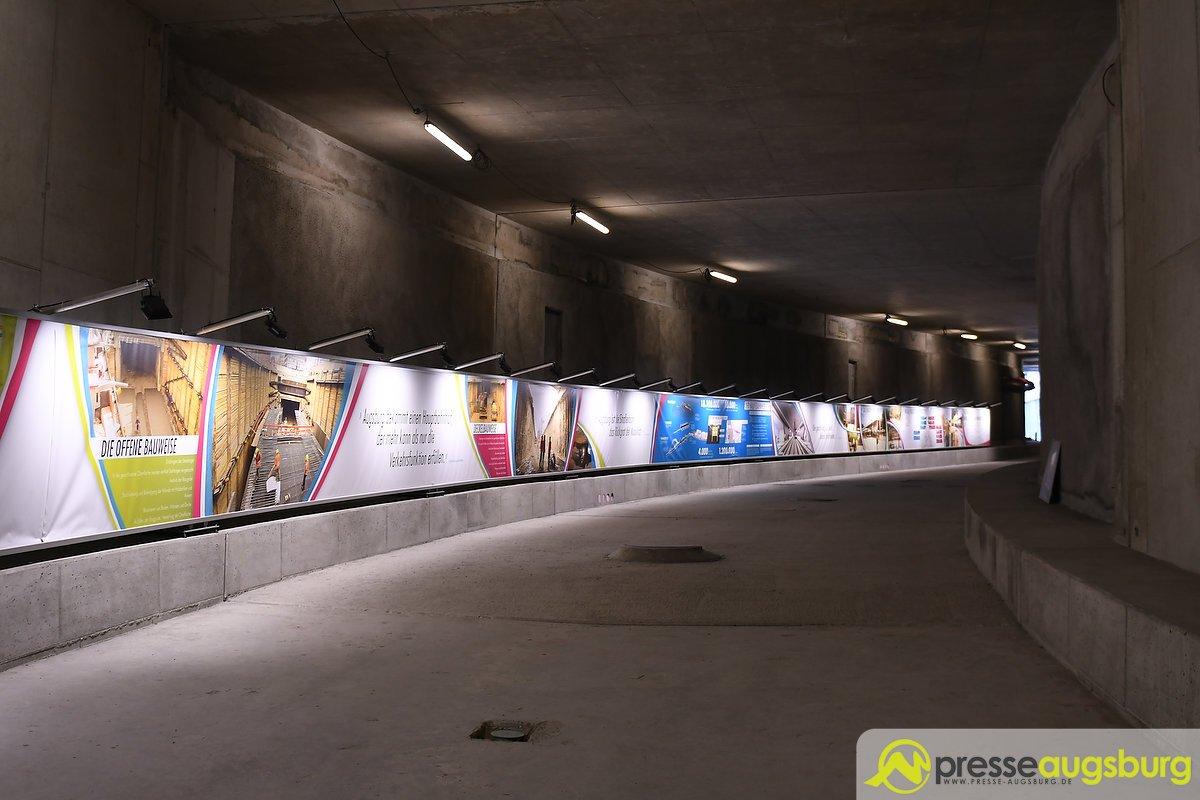 Bahnhof Augsburg Tunnel 010