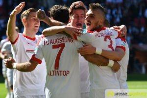 Augsburg ballert sich aus dem Tabellenkeller – FCA gewinnt 4:0 gegen schwachen HSV