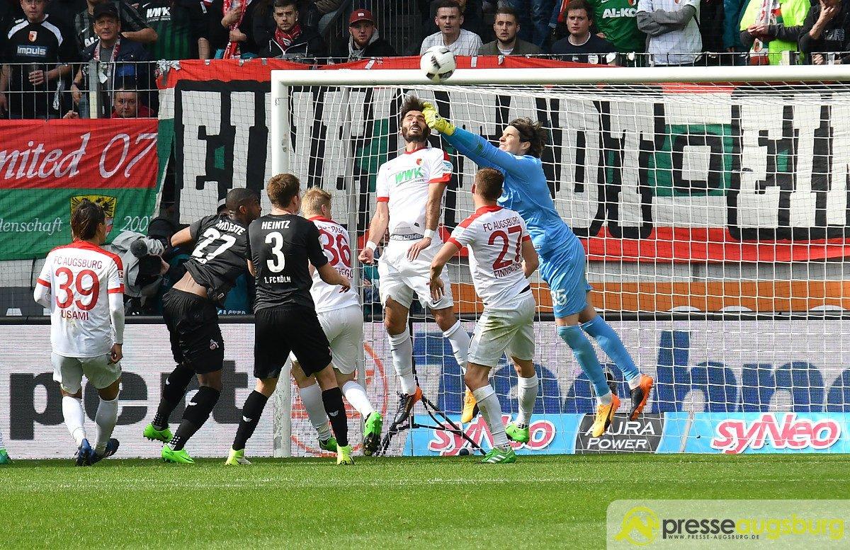FCA_KOE_019-1200x777 Der FC Augsburg siegt nach 97 aufregenden Minuten mit 2:1 gegen Köln FC Augsburg News Sport #FCAKOE 1. FC Köln 29. Spieltag Bundesliga DFL FC Augsburg  Presse Augsburg
