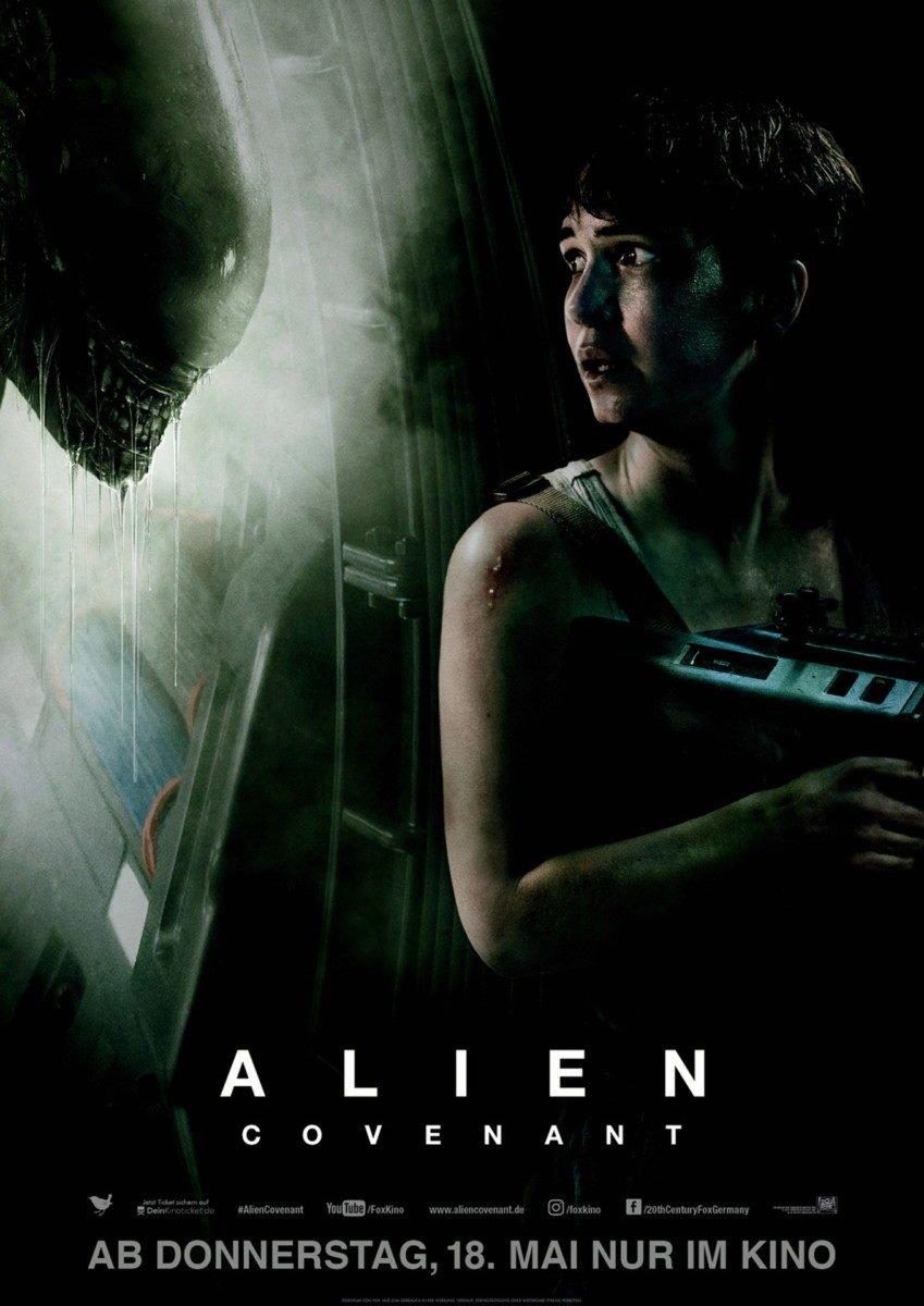 Alien_Filmposter-849x1200 BEENDET | Filmtipp der Woche & Gewinnspiel | powered by CinemaxX Augsburg Freizeit Gewinnspiele Alien: Covenant |Presse Augsburg