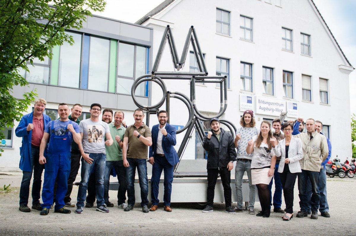 Modular-Skulptur-6 Vom 3D-Druck zur beeindruckenden Festival-Skulptur Freizeit News |Presse Augsburg
