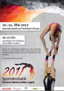 dm-sportakrobaten-211x300 Ein Großevent der Sportakrobaten mit Zirkus-Flair Aichach Friedberg News Sport Deutsche Meisterschaft Sportakrobatik TSV Friedberg |Presse Augsburg