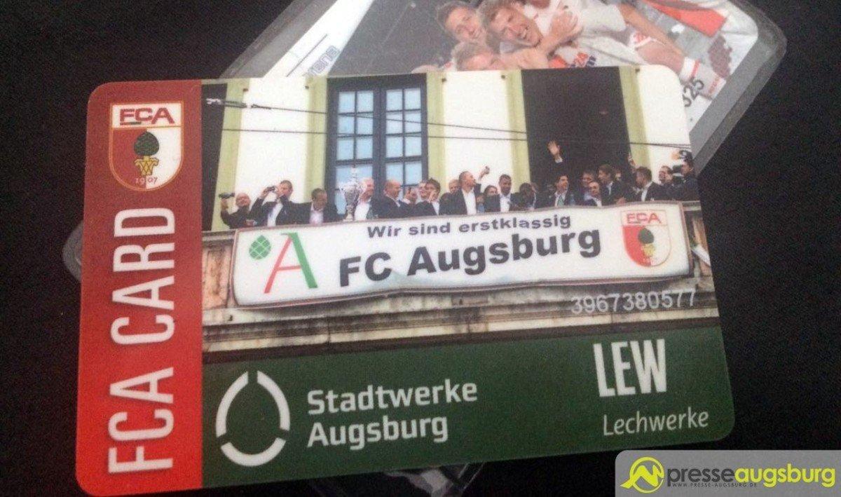 Wieder einmal hält Augsburg zusammen - Tolle Lösung in der Problematik um die FCA-Bezahlkarte