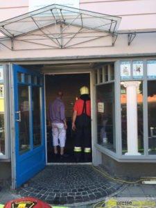 Neuburg an der Donau |Feuer in griechischem Lokal in der Luitpoldstraße