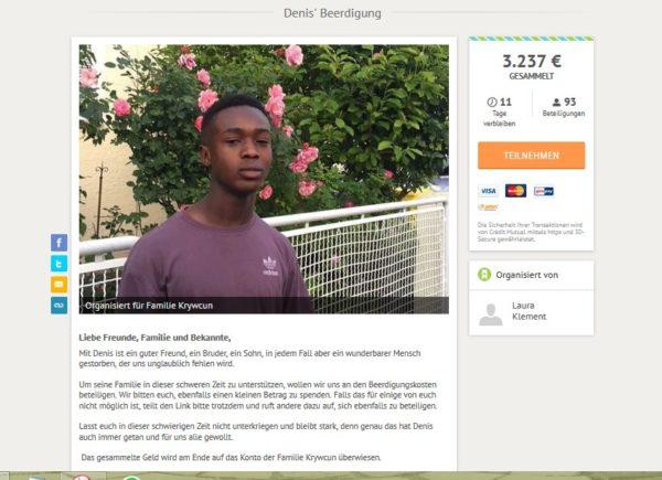 Tolle Anteilnahme | Spendenaktion für Beisetzungskosten nach Badeunfall am Friedberger See