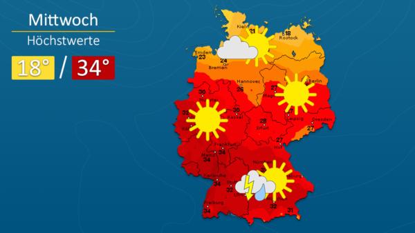 Wetter | Sonne und Gewitter - Die Vorhersage für Augsburg und Deutschland