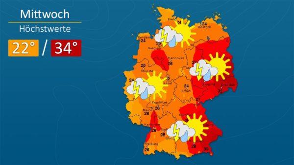 Wetter | Es wird kühler - Die Vorhersage für Augsburg und Deutschland