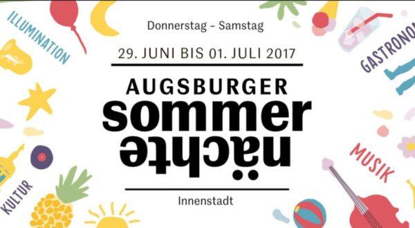 Zehntausende strömen bei wechselhaftem Wetter zum Eröffnungstag der Augsburger Sommernächte